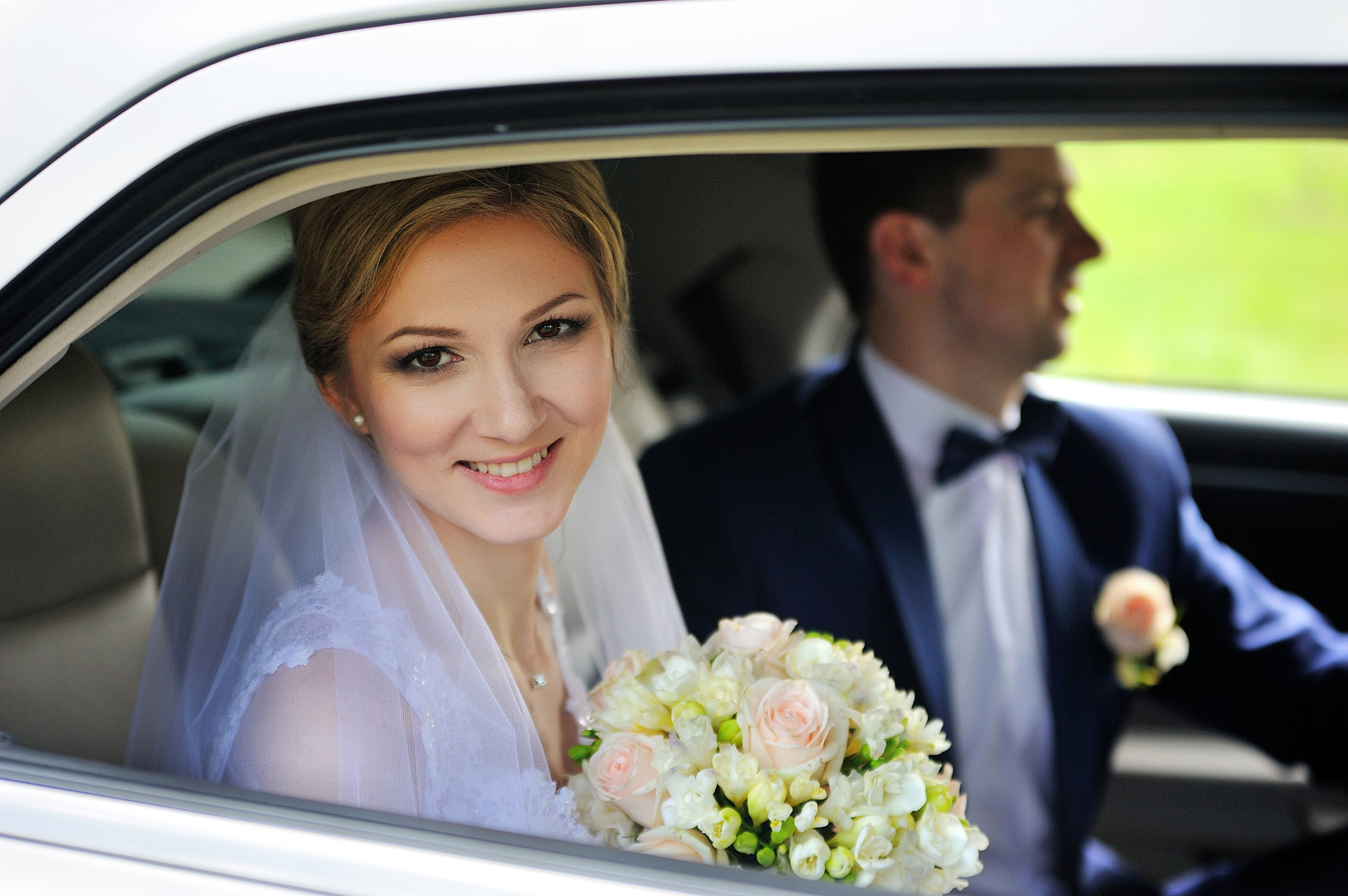 wedding chauffeur hire leeds
