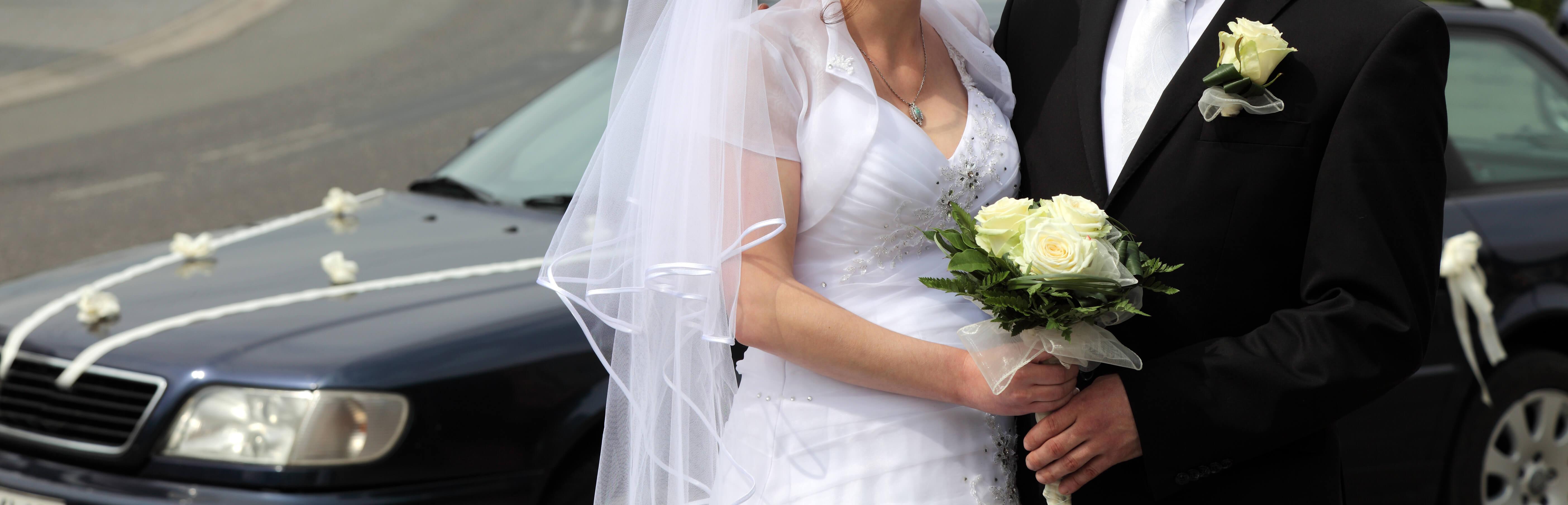 wedding chauffeur hire leeds